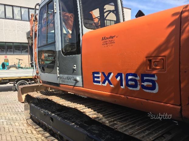 Escavatore FIAT HITACHI EX 165
