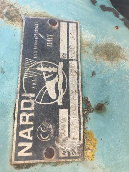 Aratro NARDI 3 CORPI MEC 21 IDRAULICO -55AD19DE-FE00-43C0-A89C-AB832DE4D3E0.jpeg