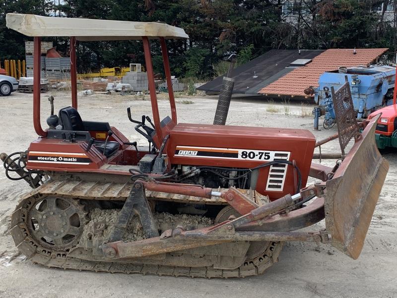FIAT 80-75 C TRATTORE CINGOLATO 80 cv CON APRIPISTA
