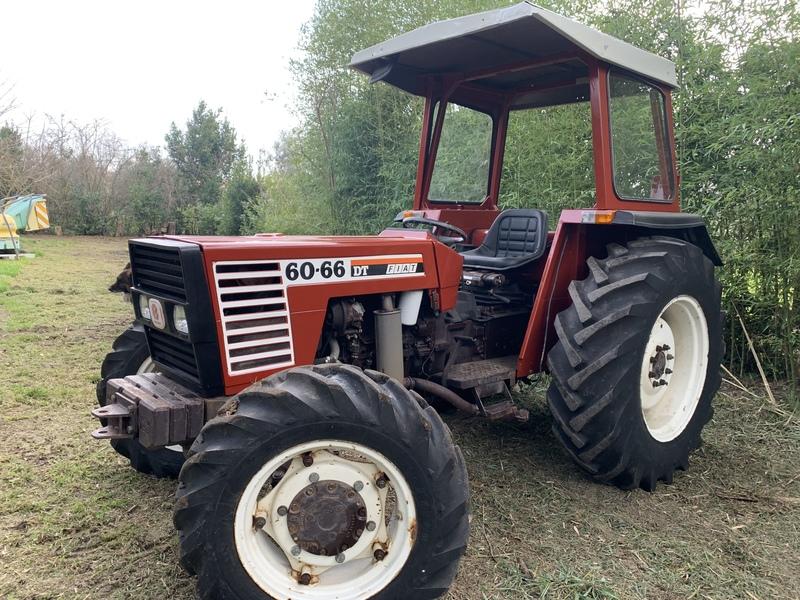 FIAT 60-66 DTLP TRATTORE FRUTTETO 1.500 ORE 1992