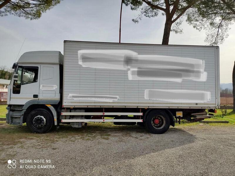 IVECO EUROTECH CURSOR 190E35 ANNO 12/2002 SPONDA IDRAULICA 2.500 KG KM 175.000 !!!